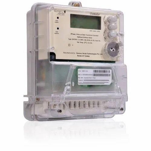 LT CT Energy Meter, 230/240V (P-N),400/415 V (P-P)