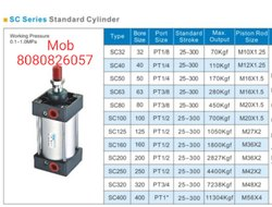 SC Series Pneumatic Air Cylinders