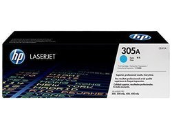 HP CE411A 305A Cyan Toner Cartridge