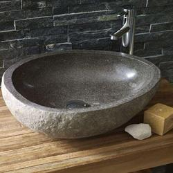 Black Stone Wash Basin
