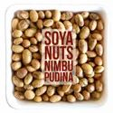 Nimbu Pudina Flavoured Roasted Soybean Nuts, Packaging Type: Laminated Hdpe Woven Sack