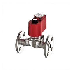 1-1/2 Semi Lift Diaphragm Operated Solenoid Valve Flange End (NC) (FLP)