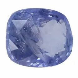 Pastel Blue Cushion - Cut Natural Ceylon Blue Sapphire