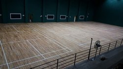 Indoor Badminton Court Wooden Flooring
