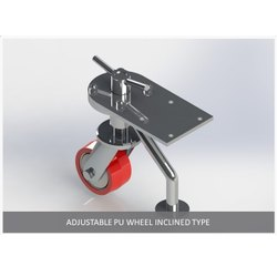 Inclined Type Adjustable PU Wheel