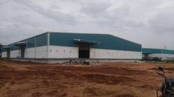 Mild Steel Prefabricated Factory Shed