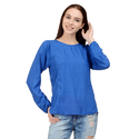 Casual Full Sleeve Surplus Designer Tops For Ladies, Size: X, M, L, Xl, Xxl