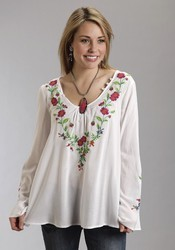 Ladies Embroidered Tops