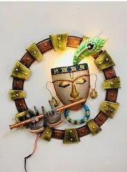 Art Decor Golden Krishna LED Small