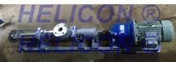 Jacketed Screw Pump