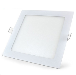 Square Rimless Ceiling Light