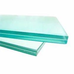 Transparent Pvb Laminated Toughened Glass, Shape: Flat