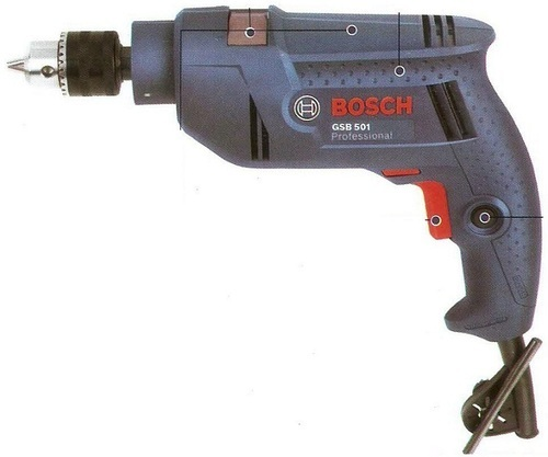 Bosch Impact Drill with Free Drill Bit