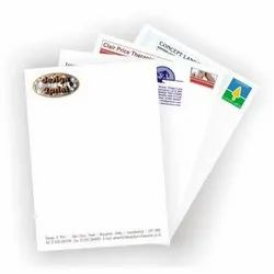 Letter Heads Printing Services, in Local, Dimension / Size: Standarised