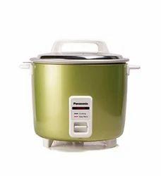 Aluminium Panasonic SR WA22H(E) 5 4Litre Automatic Rice Cooker Apple Green, For Home
