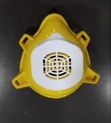 Plastic Water Proof Monsoon Face Mask