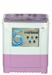Godrej 7 kg Semi Automatic Top Load Washing Machine, WS 700 CT, Purple