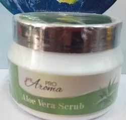 Pro Aroma Green Aloevera Scrub 200 gm, Type Of Packaging: Box