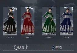 Zari Party wear Stylish Designer Faux Georgette Anarkali Suit