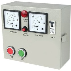 Mild Steel Submersible Pump Control Cabinet