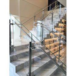 Panel Glass Stairs Railing