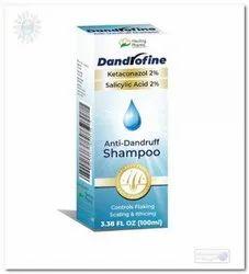 Antifungal Shampoo Unisex Dandrofine Shampoo, 100ml, Healing Pharma