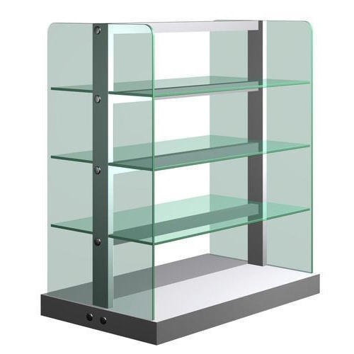 Free Standing Glass Shelf at Rs 95 /square feet | Glass Shelves | ID ...