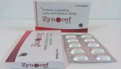 Linezolid 600mg, Cefixime 200mg, Lactic Acid & Bacillus Tablet
