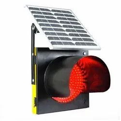 Solar Powered Traffic Blinker