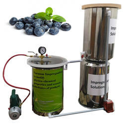 Vacuum Impregnation Machine- Physico Chemical Properties And Sensory Attributes Of Blueberries