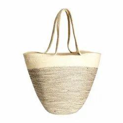 Hobo Jute Bag Large Tote Bags Vintage Shoulder Bag