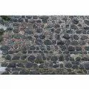 Black Rubble Stone, For Wall