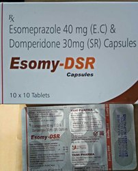 Esomy-DSR Esomeprazole Domperidone Capsule, Packaging Size: 10x10, Packaging Type: Strips