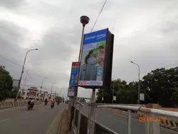 Flex Banner Pole Kiosk Advertising Services
