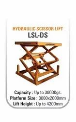 Hydraulic Double Scissor Lift