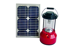 Cool White Solar LED Lantern