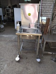 Pedal Hand Free Operated  Sanitizer