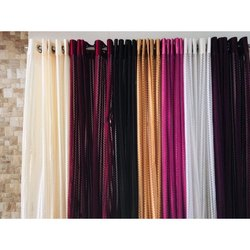 Polyester Plain Door Curtain