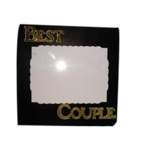 Wood Best Couple Photo Frame, Rs 250 /piece, Krishna Digital ...