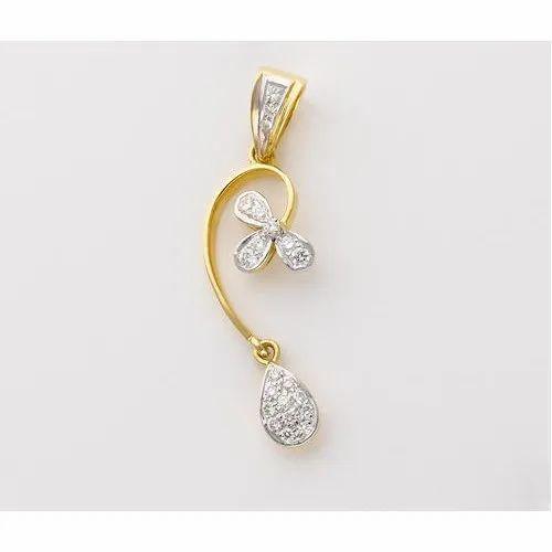 Wedding Wear Real Diamond Pendant For Bridal Wear Packaging Type