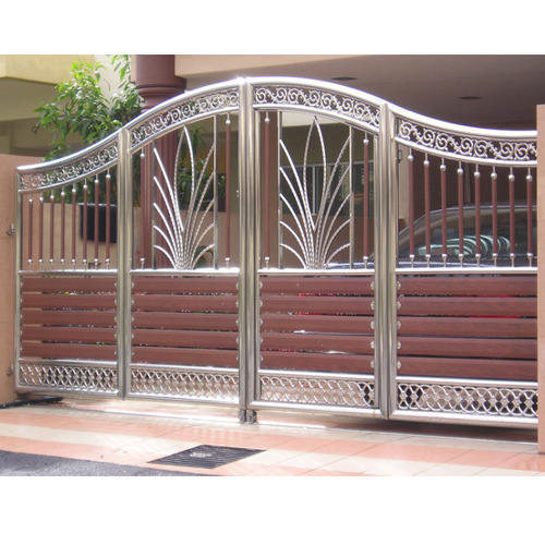 Stainless Steel Outdoor Gate