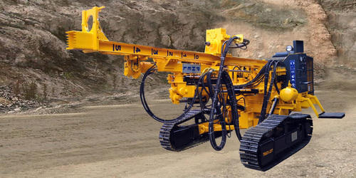 Crawler Mounted Mining Drilling Rig, Automatic Grade: Automatic, for Water Well