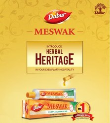 DABUR Tube Meswak Toothpaste, Packaging Size: 576