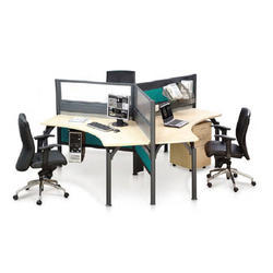 120 Degree Workstation Furniture