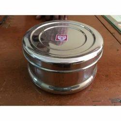 Stainless Steel Round Tiffin Box