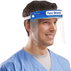 Corona Safety - Face Shield 175 Micron Polyester Film / PET / Polycarbonate - A4 Size (Covid 19)
