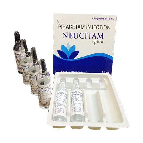 Neucitam Piracetam Injection 15 Ml Truworth Healthcare Id