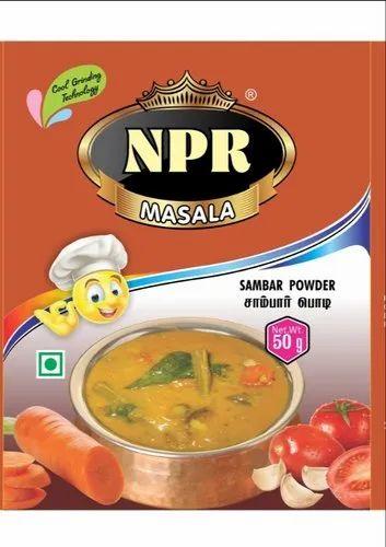 NPR MASALA Sambar Masala Sambar Powder