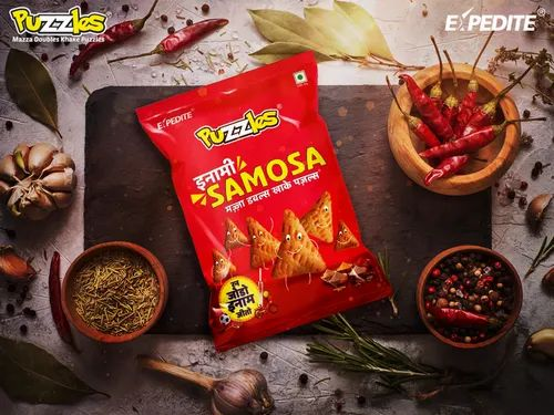Salty Wheat Flour Puzzles Inami Samosa, Packaging Size: Solo Pack