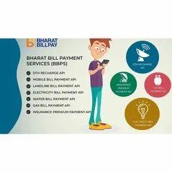 手指支付BBPS ID服务,在印度,银行